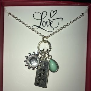 You are my Sunshine necklace NWOT